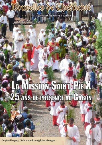 La Fraternité Saint-Pie X - Dici