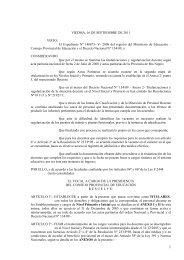 Resolución 2506/11 Titularización docentes Inicial y Primaria - UnTER