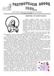 Nr 2 (66) Luty 2012 r. - Parafia Ścięcia Św. Jana Chrzciciela w ...