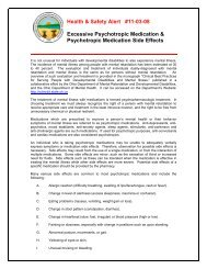 Excessive Psychotropic Medication & Psychotropic Medication Side ...