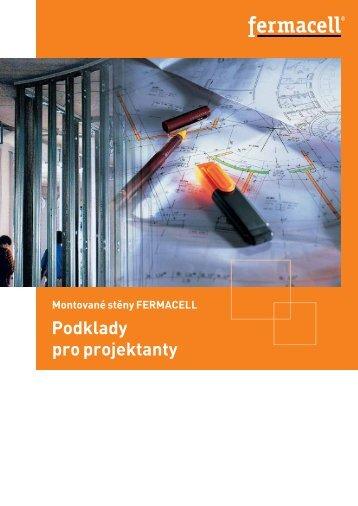 Montované stěny FERMACELL - Podklady pro projektanty
