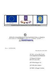 avviso pubblicazione bando di gara pon fesr 2007/2013 - MPDRC