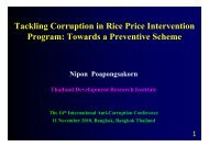 Tackling Corruption in Rice Price Intervention Program: Towards a ...