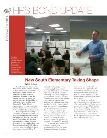 draft sketch - Hudsonville Public Schools