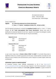 Comunicato 20121009 - Comitato Regionale Emilia Romagna