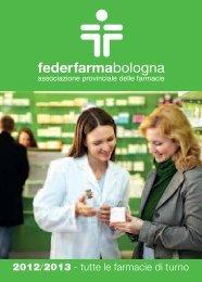 area Nord e Sud - Ordine dei Farmacisti della Provincia di Bologna