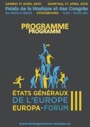 programme ege 3 version 2.indd - Eurodistrict