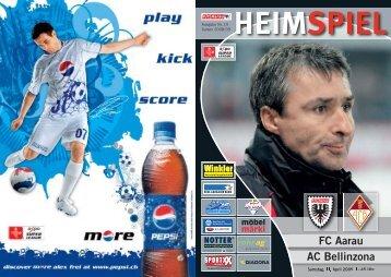 HEIMSPIEL FC Aarau AC Bellinzona