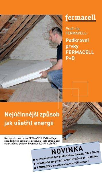Podkrovní prvky FERMACELL P+D
