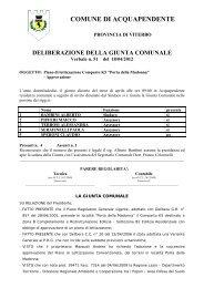 n. 51_18.4.2012_Piano di lottizzazione Comparto K5 - Comune di ...