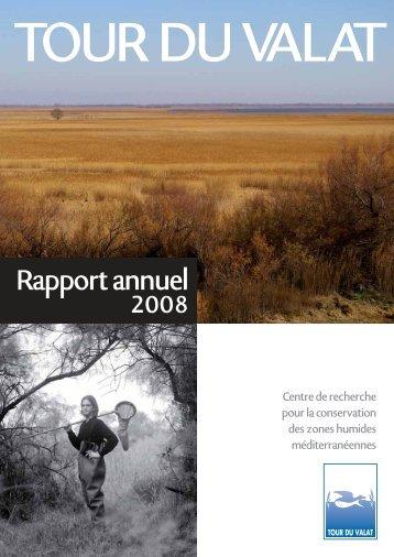 Rapport annuel 2008 - Tour du Valat