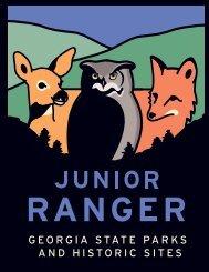 Junior Rangers - Georgia State Parks and Historic Sites