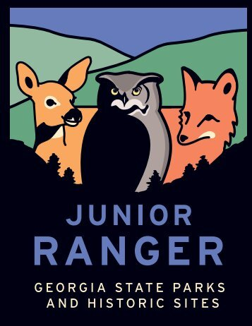 Junior Rangers - Georgia State Parks and Historic Sites