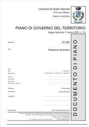 01.DP – Relazione Illustrativa - Comune di Gudo Visconti