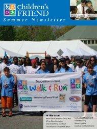 Summer 2011 Newsletter - Children's Friend