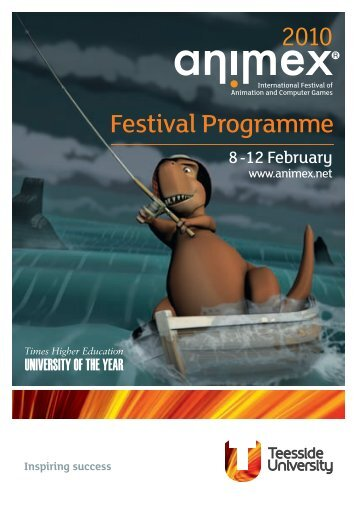 Download last year's festival programme. - Animex - Teesside ...