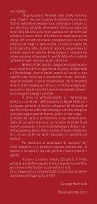 Programma scientifico - l'agenda del dermatologo - Page 2