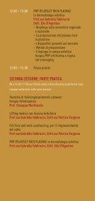 Programma scientifico - l'agenda del dermatologo - Page 7