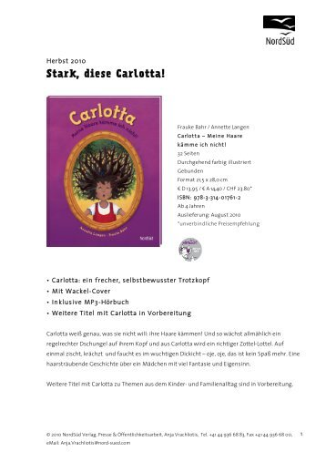 Stark, diese Carlotta!