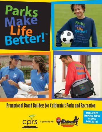 to download a catalog - California Park and Recreation Society