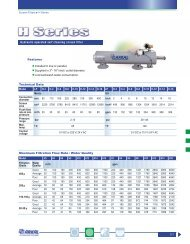 H Series - Technical Data - Netafim