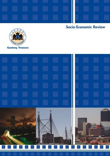 Socio-Economic Review and Outlook 2008 - Gauteng Online