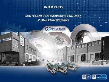 Inter Parts - Skuteczne pozyskiwanie funduszy z Unii Europejskiej