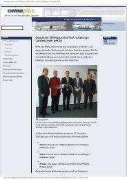 OMNIplus International - Deutscher OMNIplus ... - Rolf Bauer GmbH