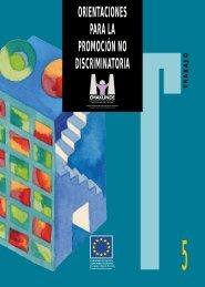 Orientaciones para la promoción no discriminatoria. Emakunde ...
