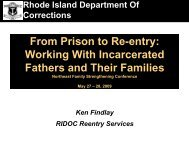 From Prison to Re-entry: Working With Incarcerated Parents and ...