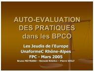 Audit - Les Jeudis de l'Europe