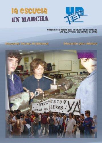 La Escuela en Marcha. Cuaderno de debate para la ... - UnTER