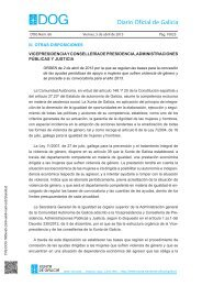 Orden DOG Viernes, 5 de abril de 2013 - Xunta de Galicia