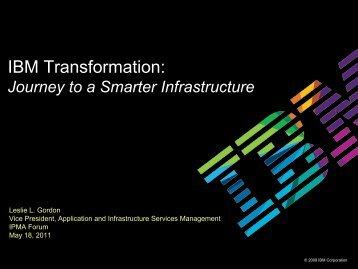 IBM Transformation: - IPMA
