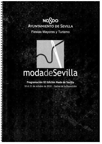 Page 1 Page 2 Pmramación V1 Edicâ n Moda de Sevilla 2m @sim à ...