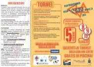 spazio libero 2011 brochure - Comune di VILLAFRANCA DI VERONA