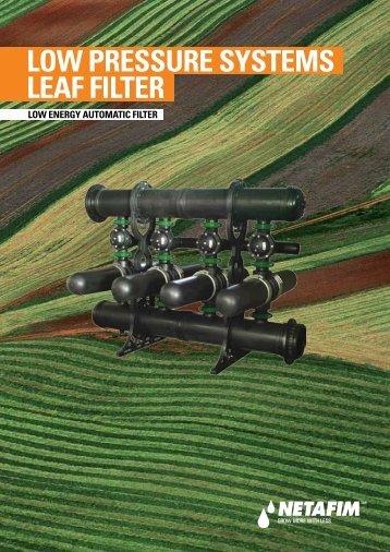 Low Energy Automatic Filter - Netafim