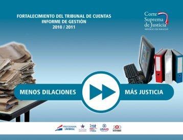 Fortalecimiento del Tribunal de Cuentas 1 - Poder Judicial