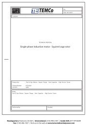 A.O.Smith Motor Catalog - Universal Electric Motors on