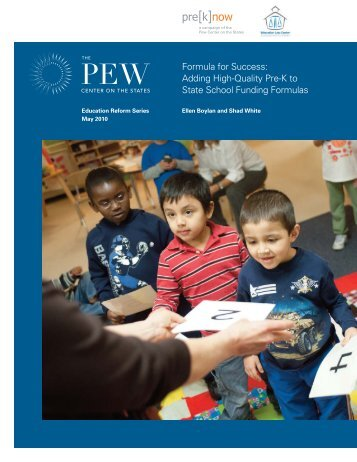 Adding High-Quality Pre-K to State School Funding Formulas