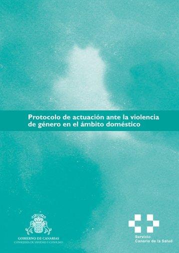 Protocolo de actuación ante la violencia de género en el ámbito ...