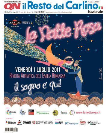 Scarica Programma completo Notte Rosa 2011 - Agendaeventi.com