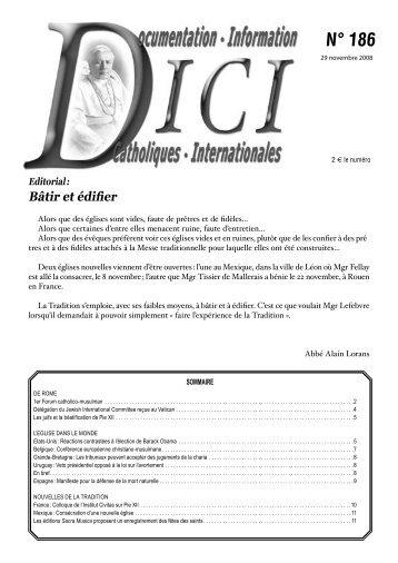 France : Colloque de l'Institut Civitas sur Pie XII ... - Dici
