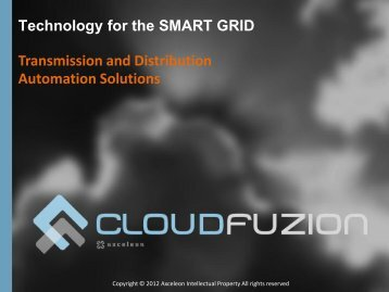 CloudFuzion for the Smart Grid