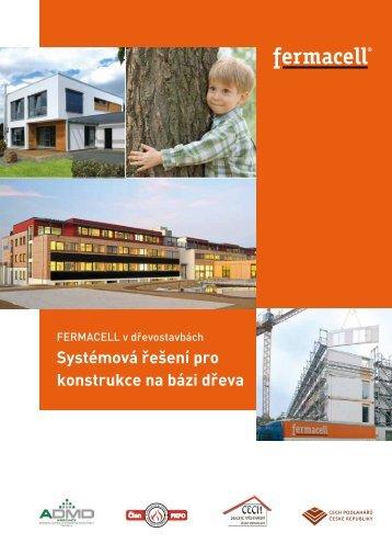 Systémová řešení pro konstrukce na bázi dřeva - Fermacell