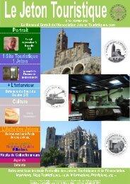 Le Jeton Touristique N°43 - Jetons touristiques de la Monnaie de Paris