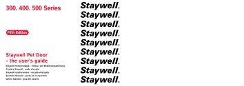 300. 400. 500 Series - Staywell.nl