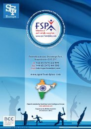 Indian Sporting Goods Research Report - Federation of Sports and ...