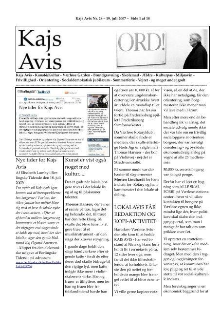 Nummer 28 - KAJ´s AVIS