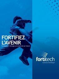 Téléchargez notre brochure corporative - Fortitech